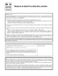 Formulaire de Déclaration Préalable de travaux