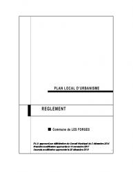 Règlement 2020