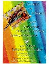 Affiche Couleurs de Printemps