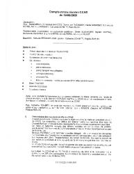 Compte Rendu du 30/06/2020