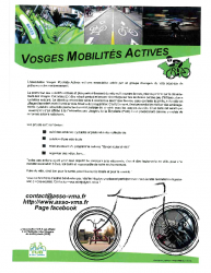 VOSGES MOBILITES ACTIVES