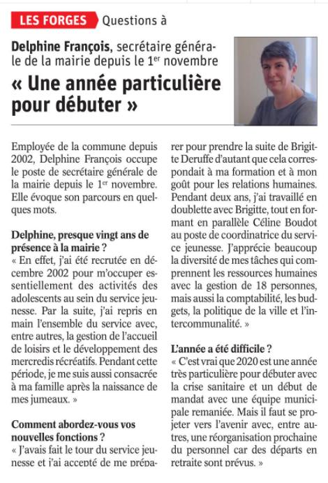 30 11 2020 DELPHINE FRANCOIS LES FORGES