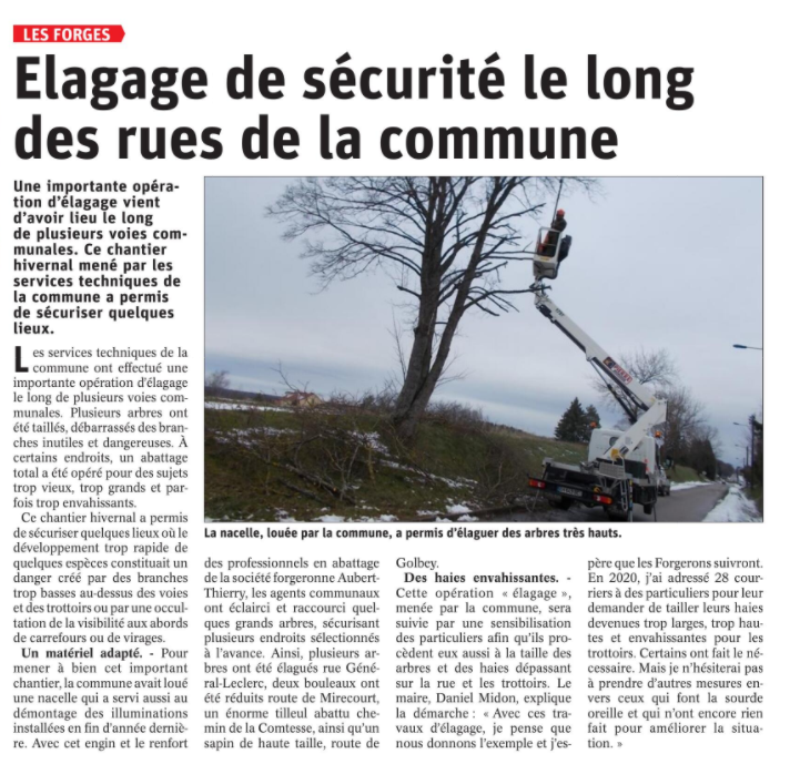 23 01 2021 ELAGAGE LES FORGES